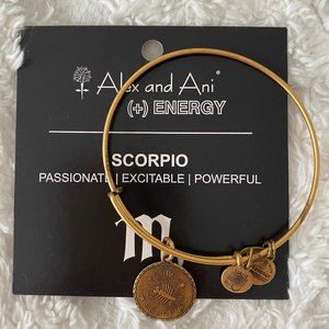Scorpio Alex and Ani Gold Bracelet